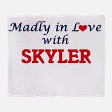 Madly in Love with Skyler Throw Blanket