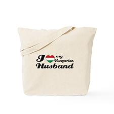 I love my Hungarian Husband Tote Bag