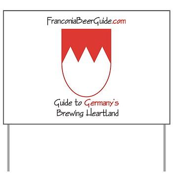 FranconiaBeerGuide.com Yard Sign