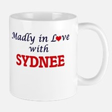 Madly in Love with Sydnee Mugs