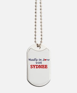 Madly in Love with Sydnee Dog Tags