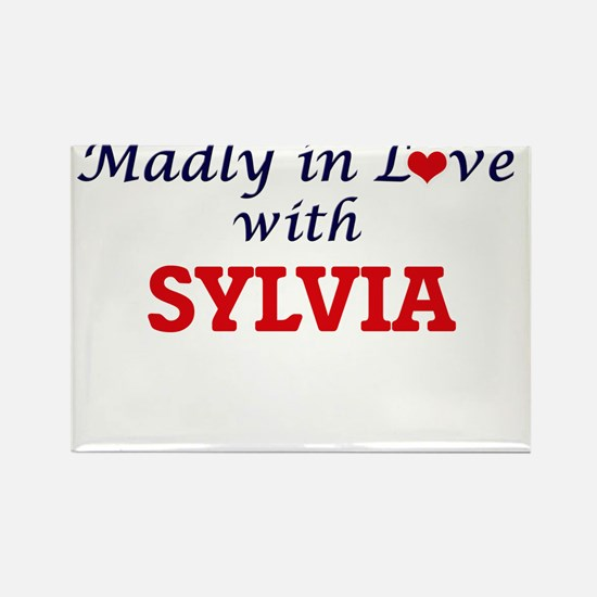 Madly in Love with Sylvia Magnets