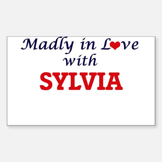 Madly in Love with Sylvia Decal
