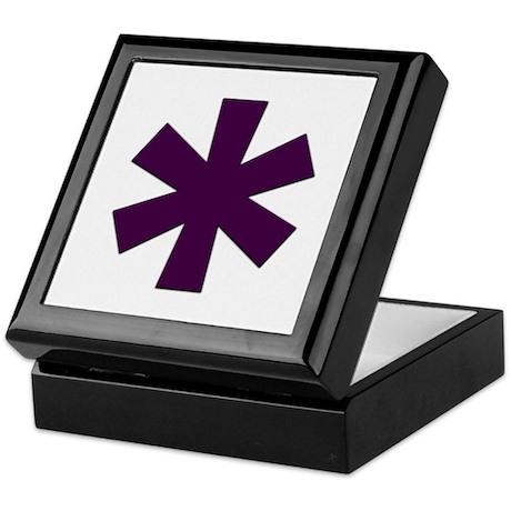 Asterisk Keepsake Box