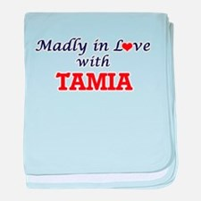 Madly in Love with Tamia baby blanket