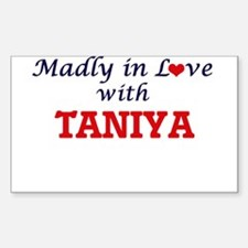 Madly in Love with Taniya Decal