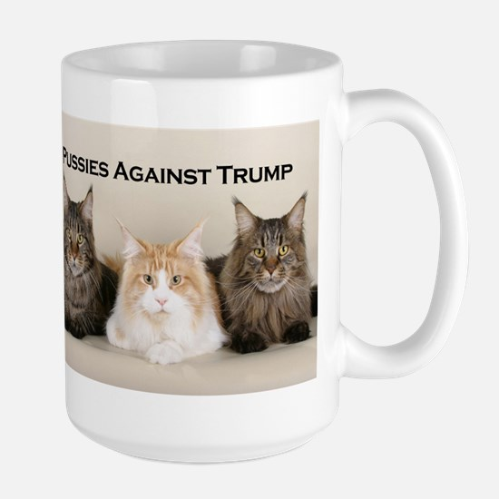 Pussies Against Trump Mugs
