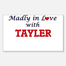 Madly in Love with Tayler Decal