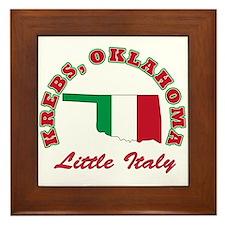 Krebs Okalhoma Little Italy Framed Tile