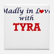 Madly in Love with Tyra Tile Coaster