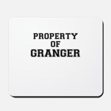 Property of GRANGER Mousepad