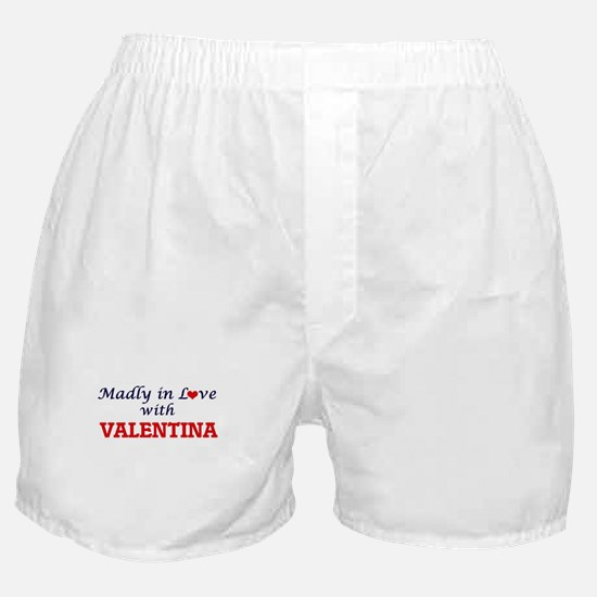Madly in Love with Valentina Boxer Shorts