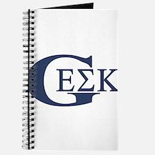 Geek House Fraterntiy (GEK) Journal