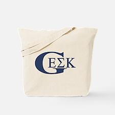 Geek House Fraterntiy (GEK) Tote Bag