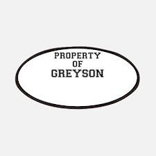 Property of GREYSON Patch