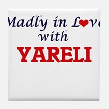 Madly in Love with Yareli Tile Coaster