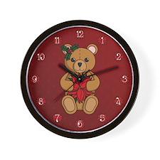Teddy's Gift Wall Clock