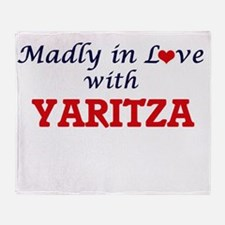 Madly in Love with Yaritza Throw Blanket
