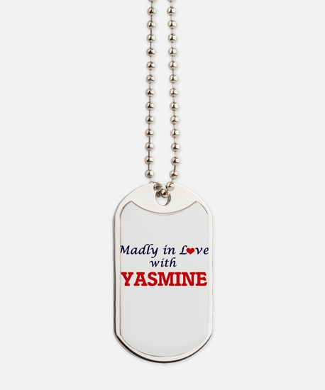 Madly in Love with Yasmine Dog Tags