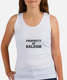 Property of HALEIGH Tank Top
