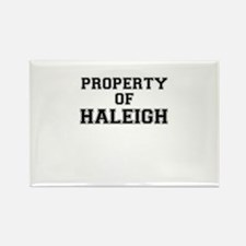 Property of HALEIGH Magnets