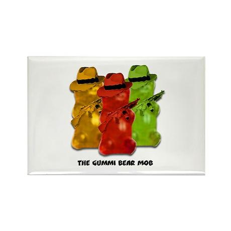 Gummi Bear Mob Rectangle Magnet (10 pack)