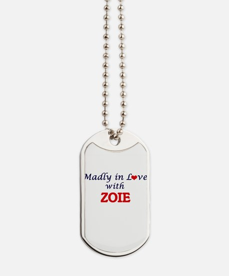 Madly in Love with Zoie Dog Tags