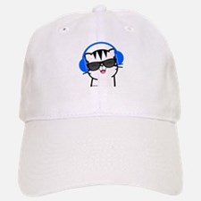 Happy Cat Baseball Baseball Cap