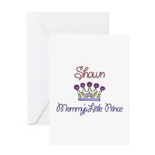Shawn - Mommy's Little Prince Greeting Card