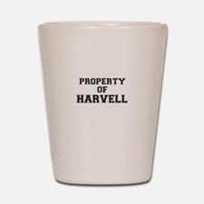 Property of HARVELL Shot Glass