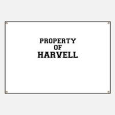 Property of HARVELL Banner
