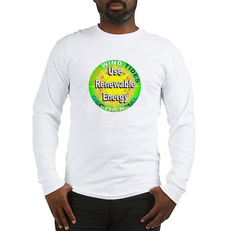 Use Renewable Energy Long Sleeve T-Shirt
