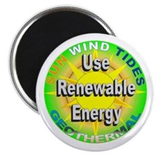 """Use Renewable Energy 2.25"""" Magnet (100 pack)"""