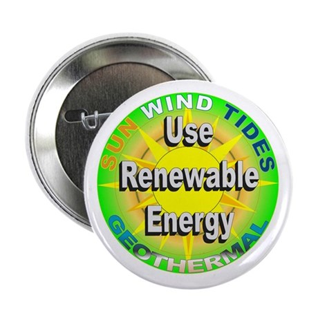 """Use Renewable Energy 2.25"""" Button (100 pack)"""