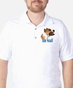 Staffy Name T-Shirt