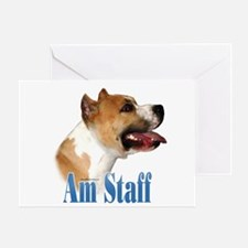 Staffy Name Greeting Card