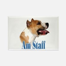 Staffy Name Rectangle Magnet (10 pack)