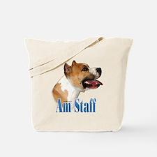 Staffy Name Tote Bag