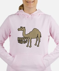 Cute Camel hump day Women's Hooded Sweatshirt