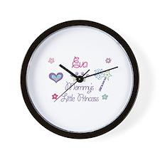 Eva - Mommy's Little Princess Wall Clock