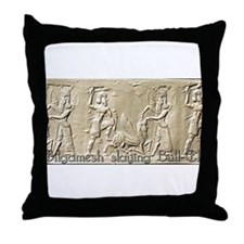 Gilgamesh Throw Pillow