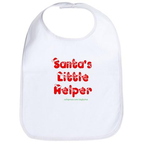 """""""Santa's Little Helper"""" Bib"""