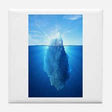 Iceberg Nature Photography Tile Coaster