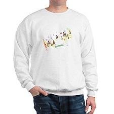 Dulcimers and Music Notes Sweatshirt