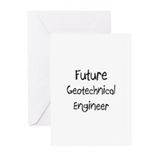Future Geotechnical Engineer Greeting Cards (Pk of