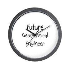 Future Geotechnical Engineer Wall Clock