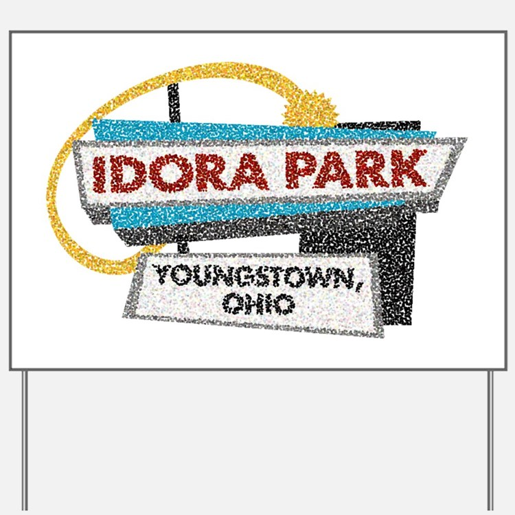 Idora Park Sign Yard Sign