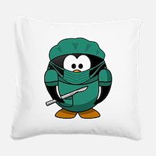 Surgeon Square Canvas Pillow