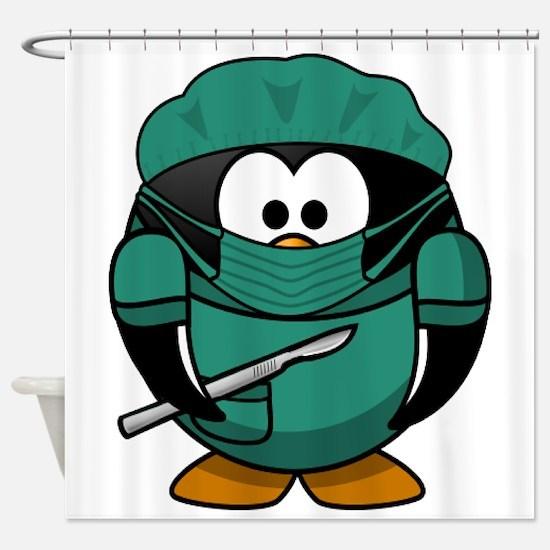 Surgeon Shower Curtain