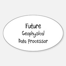 Future Geophysical Data Processor Oval Decal